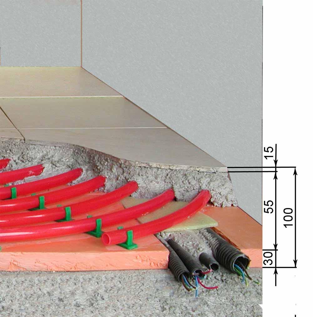 Pavimenti riscaldati wet eps istruzioni di montaggio - Tappeto riscaldamento pavimento ...